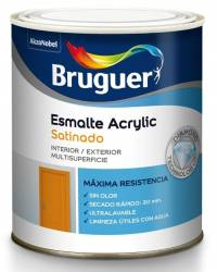 Bruguer Acrylic Colores Satinado 750ml